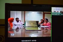 BBA and BSCS Assessment Teams Dubai Video Conference-HYD 3-May-2017 Campus