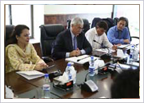 HEC-QAA Review Visit at SZABIST Islamabad 16th Aug 2016
