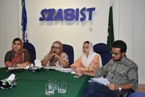 SAR BBA and BSCS Exit Meeting SZABIST Dubai-Karachi and Hyderabad Campuses- 25 May 2017