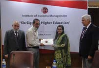 Six sigma in education at IoBM